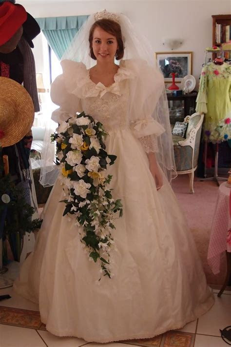 25  best ideas about 1980s Wedding Dress on Pinterest