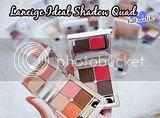 LANEIGE Ideal Shadow Quad | Eyeshadow swatches