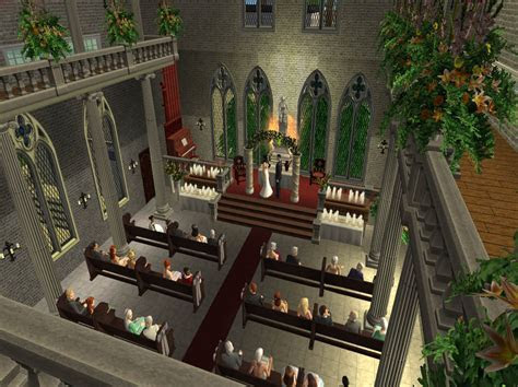 Mod The Sims   New St. Bestine's Cathedral *4 Year Creator