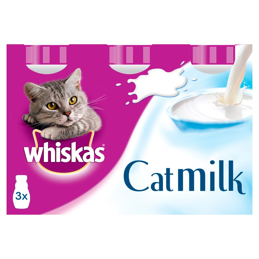 Whiskas Cat Milk 3 Pack 3x200ml   Pets At Home