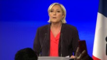 marine le pen calls emmanuel macron french election sot _00005714.jpg