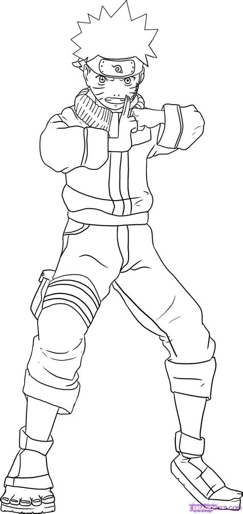 draw naruto step  step naruto characters anime