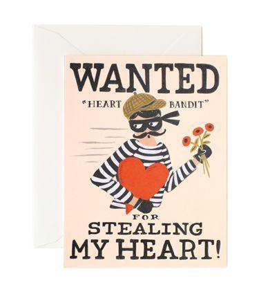 Rifle Paper Co. - Heart Bandit Card