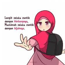 Wallpaper Kartun Muslimah El impremedia net