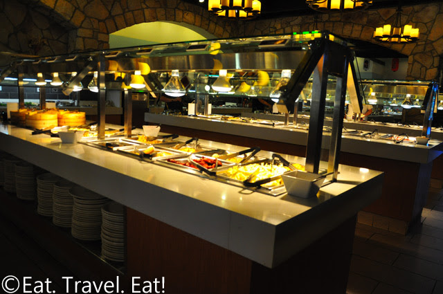 Zen Buffet- Monrovia, CA: Steam Trays