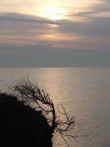 Abendstimmung Steilküste in Heiligenhafen