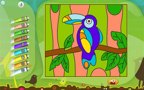 toucan coloring page printables apps  kids
