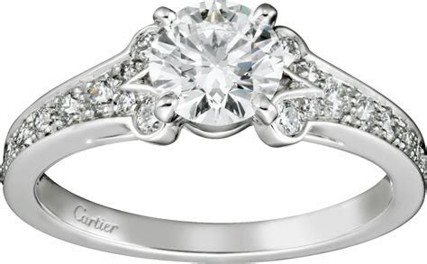 CRN4196900   Ballerine Solitaire   Platinum, diamonds