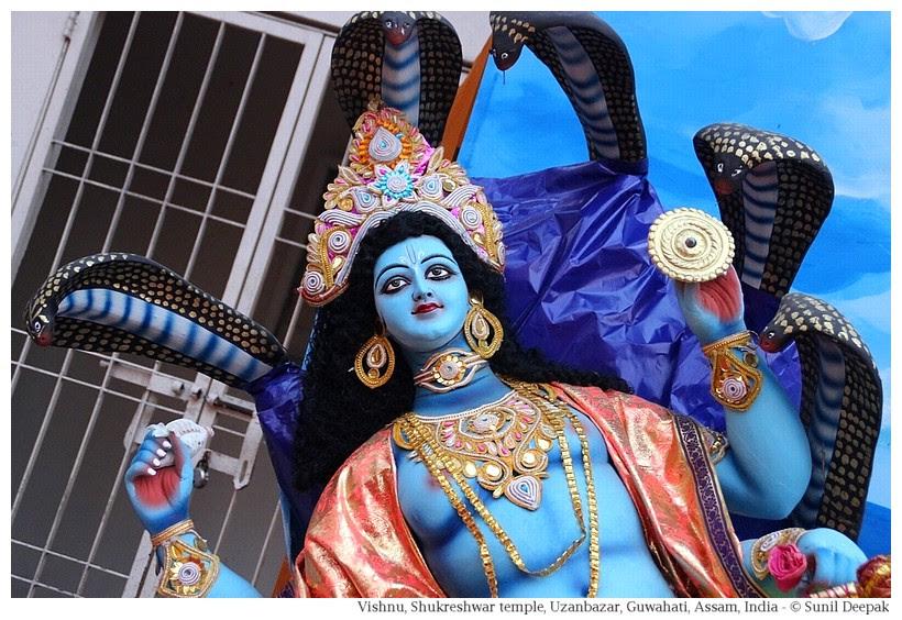 Vishnu, Shukreshwar temple, Guwahati, Assam, India