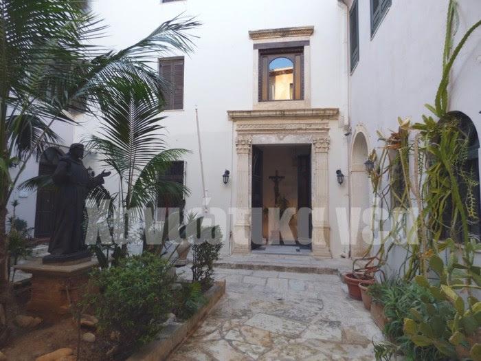 Ο Ι.Ν. της Κοίμησης της Θεοτόκου από το 1879 έως και σήμερα αποτελεί την έδρα του καθολικού επισκόπου της Κρήτης