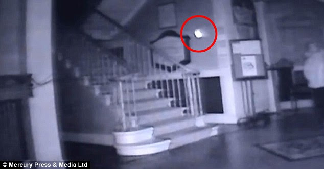 Haunted? Others have claimed to have seen a ghostly figure of a man and his dog in the same site