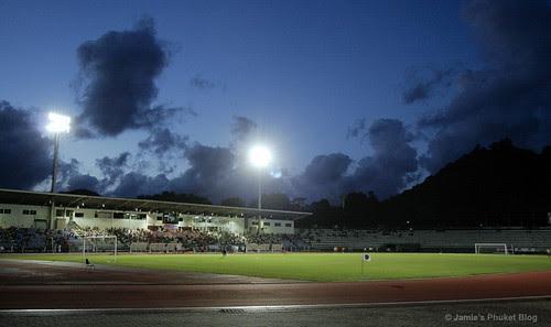 Surakul Stadium, photo taken at half time