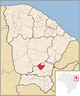 Localização de Iguatu