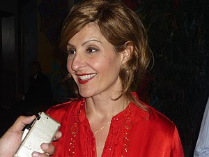 Actress Nia Vardalos at 2009 GLAAD Media Award...