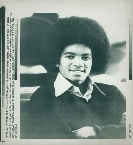 Jackson Michael about 1977