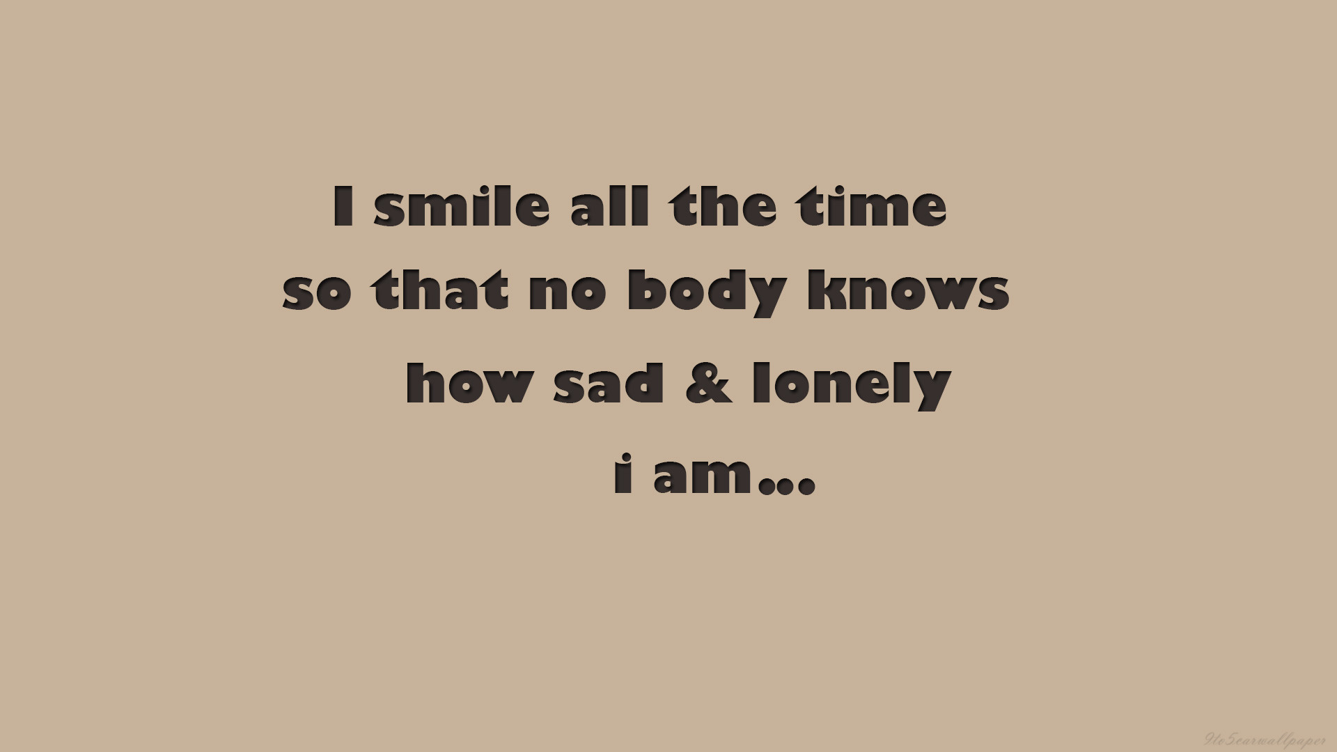 Loneliness Prevails Sadness Quotes, Images & Hd Wallpapers ...