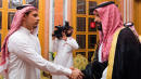 Jamal Khashoggi's Son Meets Saudi King And Crown Prince In Disgraceful Photo Op