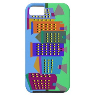 City Art on iPhone 5 Case