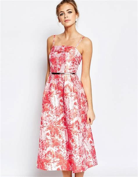 Spring outdoor wedding guest dresses   Everything for the