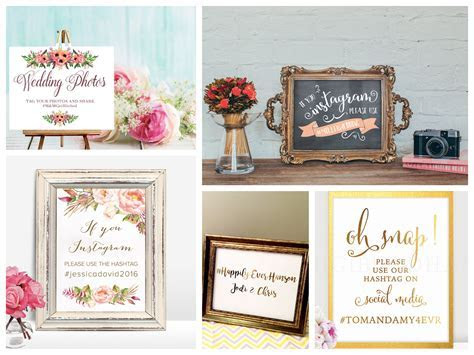 A Couple's Guide to Wedding Hashtags   PartyIdeaPros.com