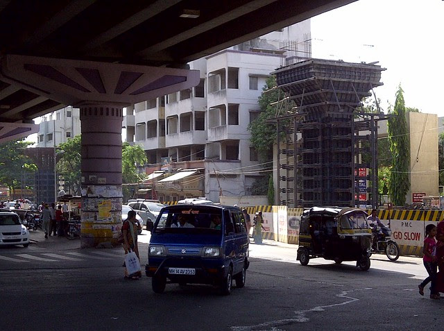 Construction of Flyover on Pune Solapur Highway at Hadapsar Gadital, Pune 411028