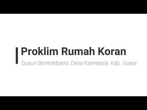 Proklim Rumah Koran