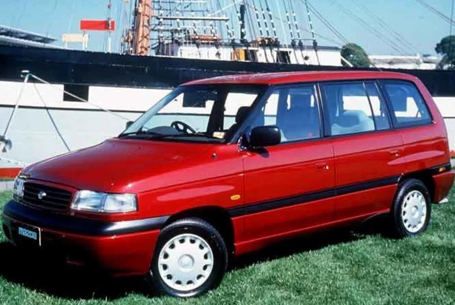 1995 Mazda Mpv Repair Manual