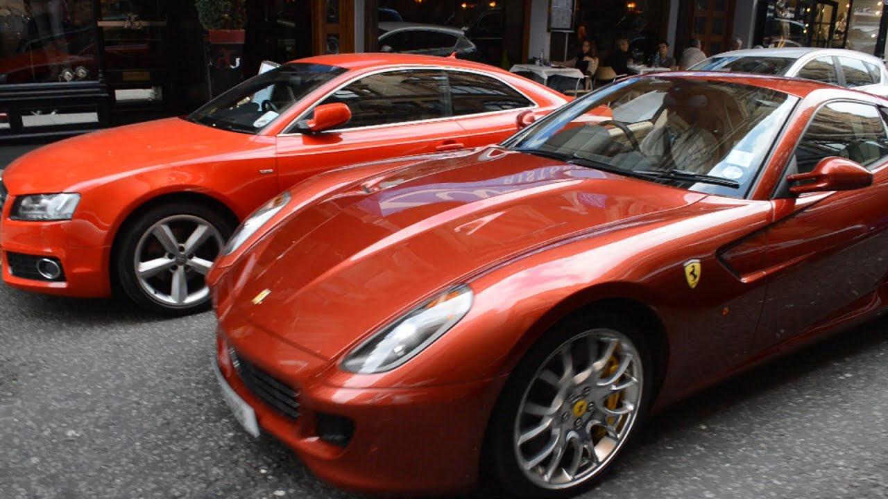 Ferrari 599 GTB, California, 458 Italia, McLaren MP4-12C ...