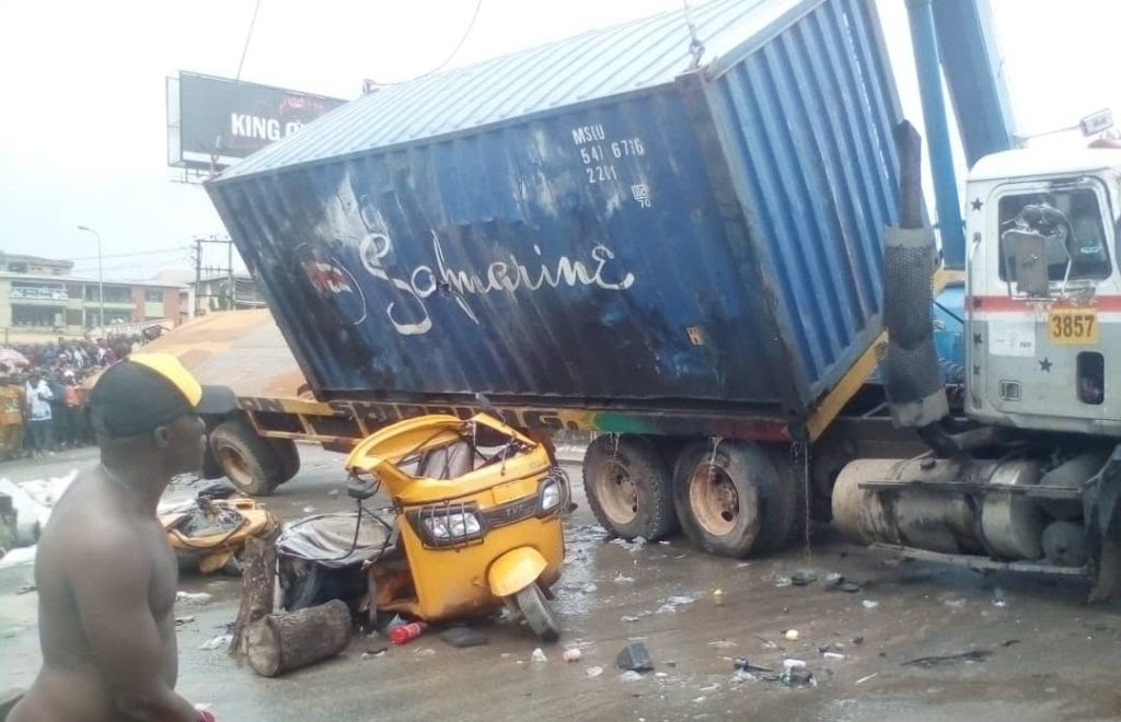 File Photo: Truck accident