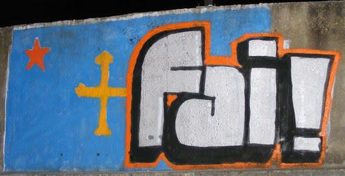 Murales de Fai! en Llanera