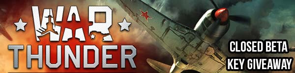 War Thunder Exclusive Closed Beta Key Giveaway