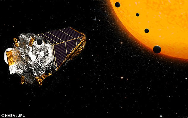 The space agency is holding a press conference today at 1:00pm ET (6:00pm GMT) to reveal a new discovery made by its Kepler telescope (artist's impression) in an event that could help guide the search for alien life