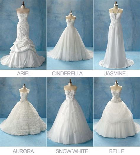 Disney Princesses Wedding Dress Collection by Alfreda