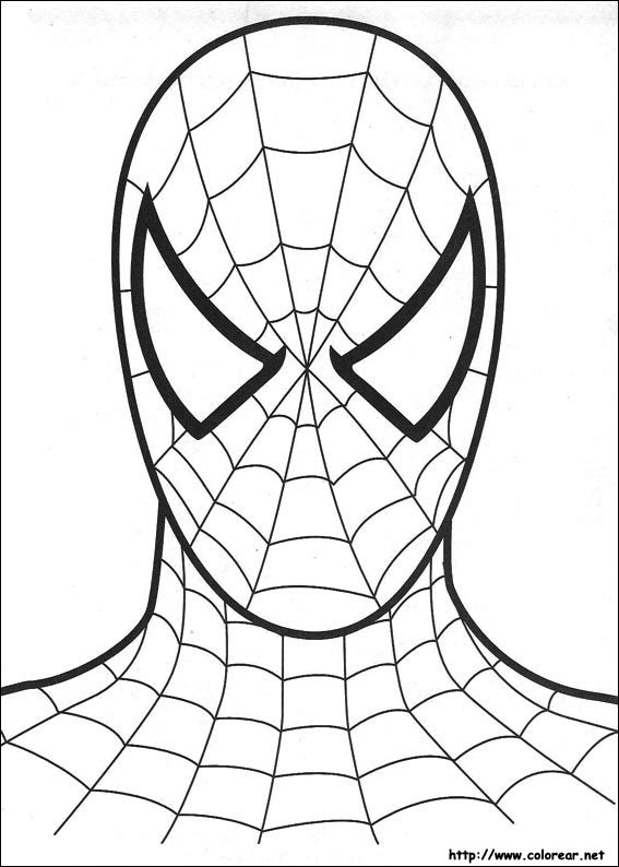 Dibujos De Spiderman Para Colorear En Colorearnet