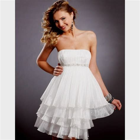 short white formal dresses for juniors Naf Dresses