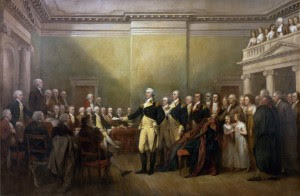 """General George Washington Resigns his Commission"" by John Trumbull. Courtesy US Capitol"