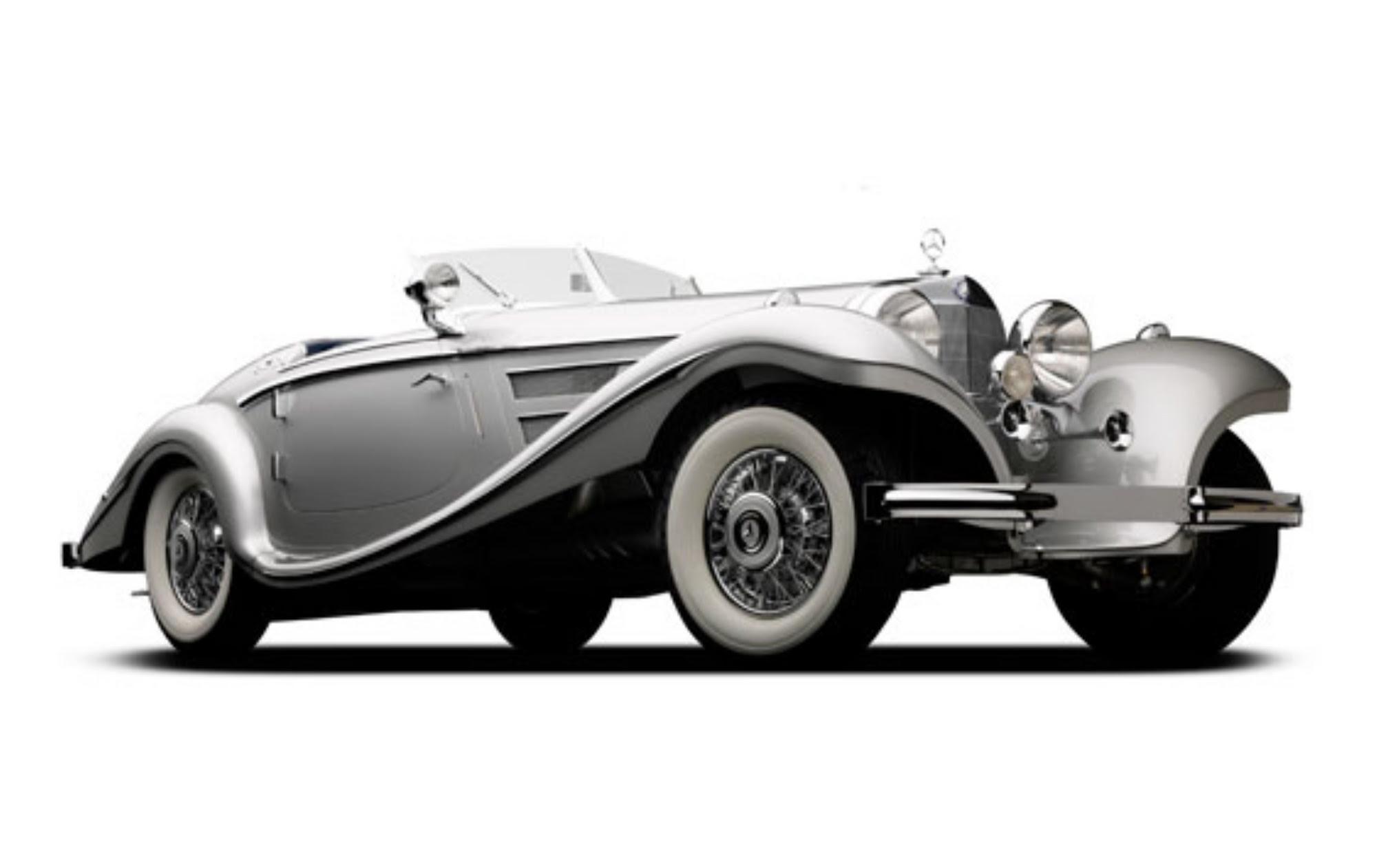 1937 Mercedes-Benz 540K Set For Auction At Monterey