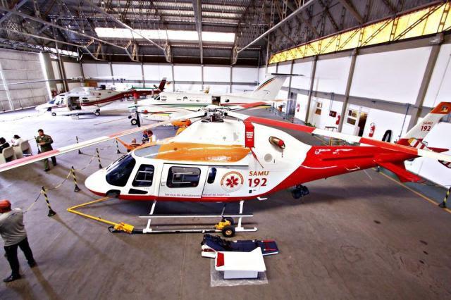 Estado reestrutura serviço aeromédico  Secretaria Estadual da Saúde/Divulgação