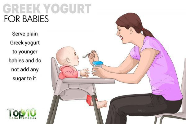 greek yogurt for babies