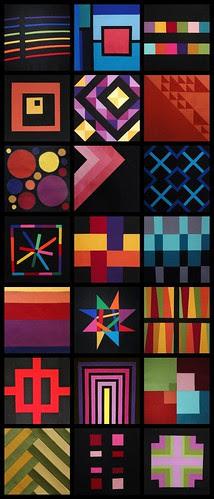 Collage of Modern Block Monday