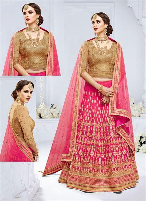 latest bridal lehenga blouse designs