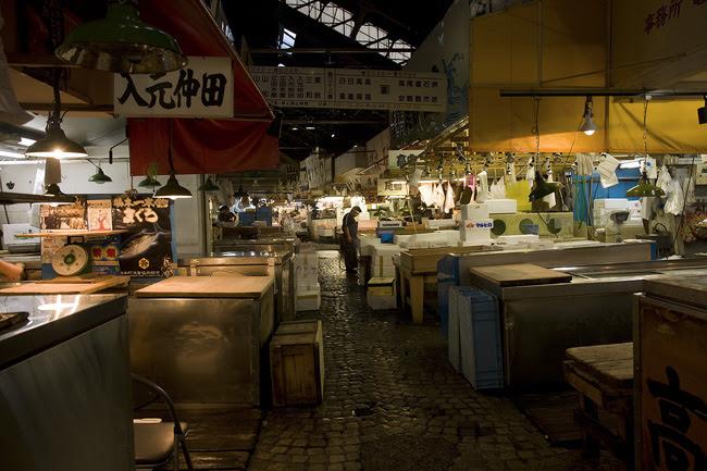 Tsujiki Fish Market, Tokyo