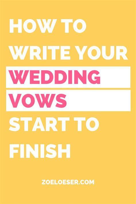 Best 25  Writing wedding vows ideas on Pinterest   Writing