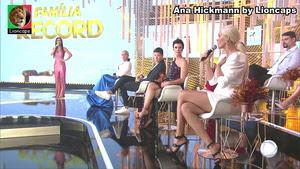 Ana Hickmann sensual na Record Tv