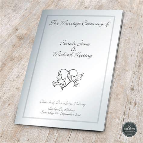 Wedding Mass Booklets