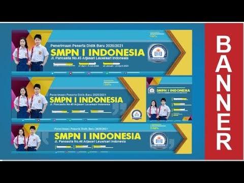 Desain Banner Ppdb - gambar spanduk