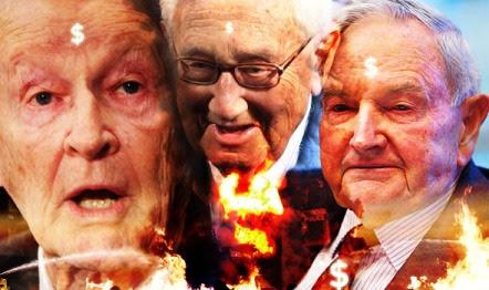 Tres Bilderbergs, responsables ed la creación de la Comisión trilateral. Brzezinski, Kissinger y Rockefeller