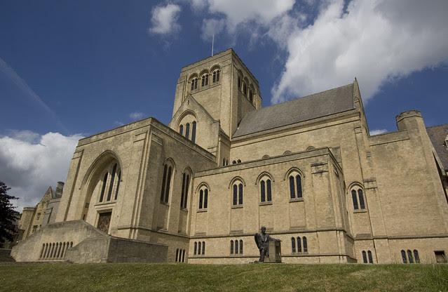 Ampleforth Abbey church