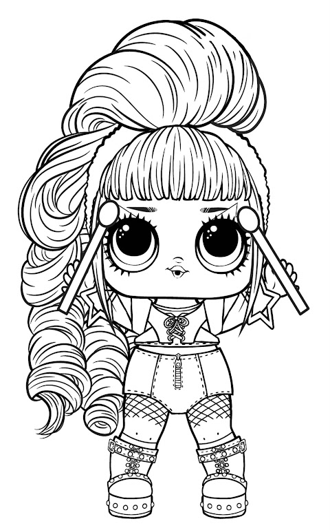 Beautiful It Coloring Pages