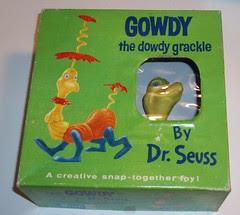 Dr Seuss Gowdy model kit